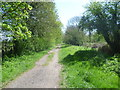 TL4066 : Looking along Long Lane, Longstanton by Marathon