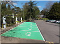 SO7745 : Electric vehicle charging bays, Great Malvern by Jaggery