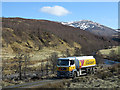 NH4688 : Oil tanker in Glen Calvie by Trevor Littlewood
