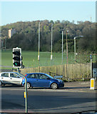 SK5838 : Radcliffe Road to Colwick Woods by John Sutton