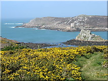 SV8815 : Hangman Island from Watch Hill, Bryher by David Purchase