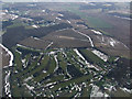 TL0016 : Whipsnade Park Golf Club from the air by Thomas Nugent
