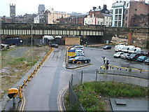 SJ3590 : Liverpool Central railway station (site) by Nigel Thompson