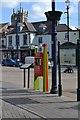 SK7519 : Information point, High Street by Robin Stott