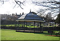 SU9644 : Bandstand, Philips Memorial Park by N Chadwick