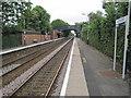 SJ6590 : Birchwood railway station, Warrington, 2010 by Nigel Thompson