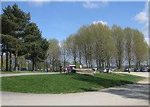 SK9308 : Car park area, Sykes Lane by Pauline E