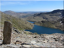 SH6154 : Path junction on Snowdon by Gareth James