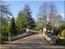 TQ2077 : The Palladian Bridge, Chiswick House Gardens (2) by Stefan Czapski