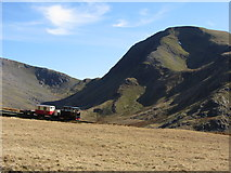 SH5958 : Snowdon Mountain Railway and Moel Cynghorion by Gareth James