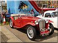 SD5705 : 1946 MG Midget TC at Trencherfield Mill by David Dixon