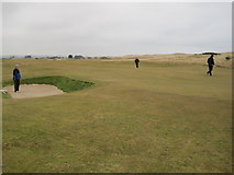 NU0545 : Goswick Golf Course by Les Hull