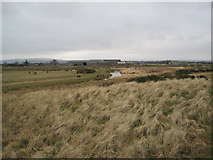 NU0545 : North Low and Goswick Farm by Les Hull