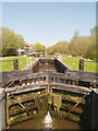 SD5704 : Poolstock Upper Lock, Leeds and Liverpool Canal by David Dixon