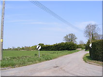 TM2373 : Mill Lane, Barley Green by Adrian Cable