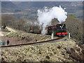 SH6742 : Ffestiniog Railway at Dduallt by Gareth James