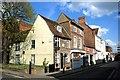 SP8113 : Street Corner, Old Aylesbury by Des Blenkinsopp