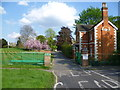 TQ4076 : Entrance to Morden College by Marathon