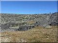 SH6645 : No. 3 level mill at Rhosydd Quarry by Gareth James