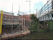 SJ9398 : Bridge #28 construction by Gerald England