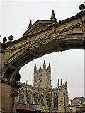 ST7564 : Bath Abbey & Arch by william