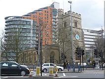 TQ2475 : St Mary's Church, Putney by Marathon