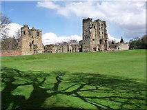 SK3616 : Ashby-de-la-Zouch: the castle by Chris Downer