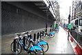 TQ3081 : Barclays Cycle Hire, High Holborn by N Chadwick