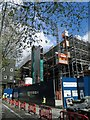 TQ2981 : Steel framed extension to the British Museum by Steve  Fareham