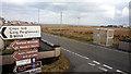 NB5363 : Multitude of signs at Nis by John Lucas