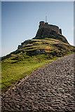 NU1341 : Lindisfarne Castle by Kim Fyson