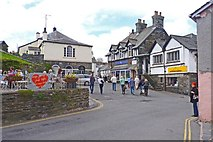 SD3598 : Hawkshead Town by Mike Smith