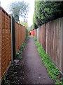 TL0537 : Footpath to Moor Lane by Philip Jeffrey