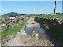 SE0120 : Water splash on Slack Lane by Humphrey Bolton