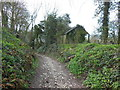 ST7375 : The Cotswold Way enters Dyrham by Ian S
