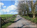 SJ2435 : Lane heading uphill by John Haynes