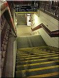 TQ2775 : Steps to subway, Clapham Junction by Derek Harper