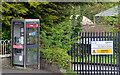 J1265 : Telephone box, Aghalee by Albert Bridge
