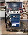 SO5604 : Derelict DERV pump, St Briavels by Jaggery