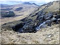 NM5929 : Waterfall with view towards Ben More by Rude Health