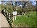 NU1416 : Bridge over the Shipley Burn by Russel Wills