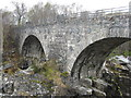 NH4063 : Old bridge over the Black Water by M J Richardson