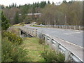 NH4063 : The A835 crosses the Black Water by M J Richardson