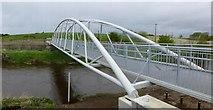 H4473 : New footbridge, Omagh by Kenneth  Allen