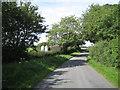 SP1164 : Lane north towards Morton Bagot by Robin Stott