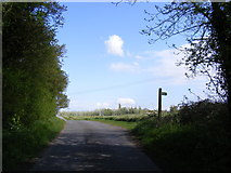 TM3787 : Great Common Lane & the footpath to the A144 Stone Street by Adrian Cable