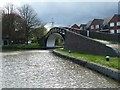 SP3684 : Bridge over Hawkesbury Junction (Oxford Canal side) by Rob Farrow