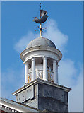 SD4364 : Cupola and wind vane, Cinnabar House, Morecambe (2) by Karl and Ali