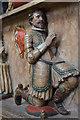 SE6052 : Thomas Bellasis on Bellasis monument, York Minster by Julian P Guffogg