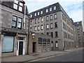 NJ9406 : Bar with no name, Regent Quay, Aberdeen by Bill Harrison